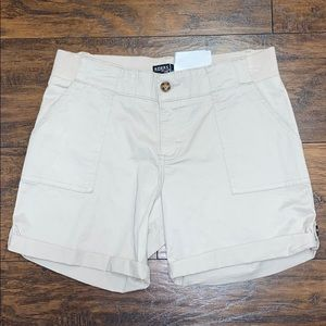 Riders by Lee tan shorts size 10 nwt flattering